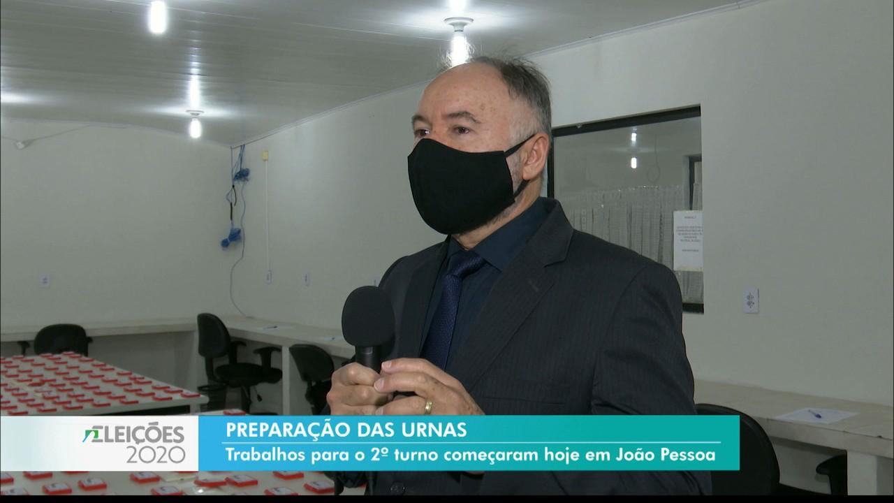 TRE começa a preparar urnas para o segundo turno das eleições de João Pessoa