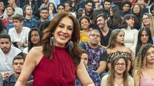 Claudia Raia brinca sobre Murilo Benício: 'Única amiga mulher que ele não cantou'