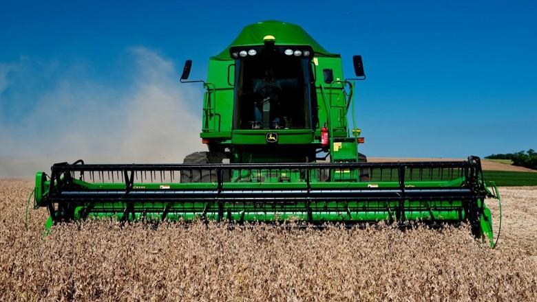 agricultura_maquina_colheitadeira_johndeere (Foto: Divulgação/John Deere)