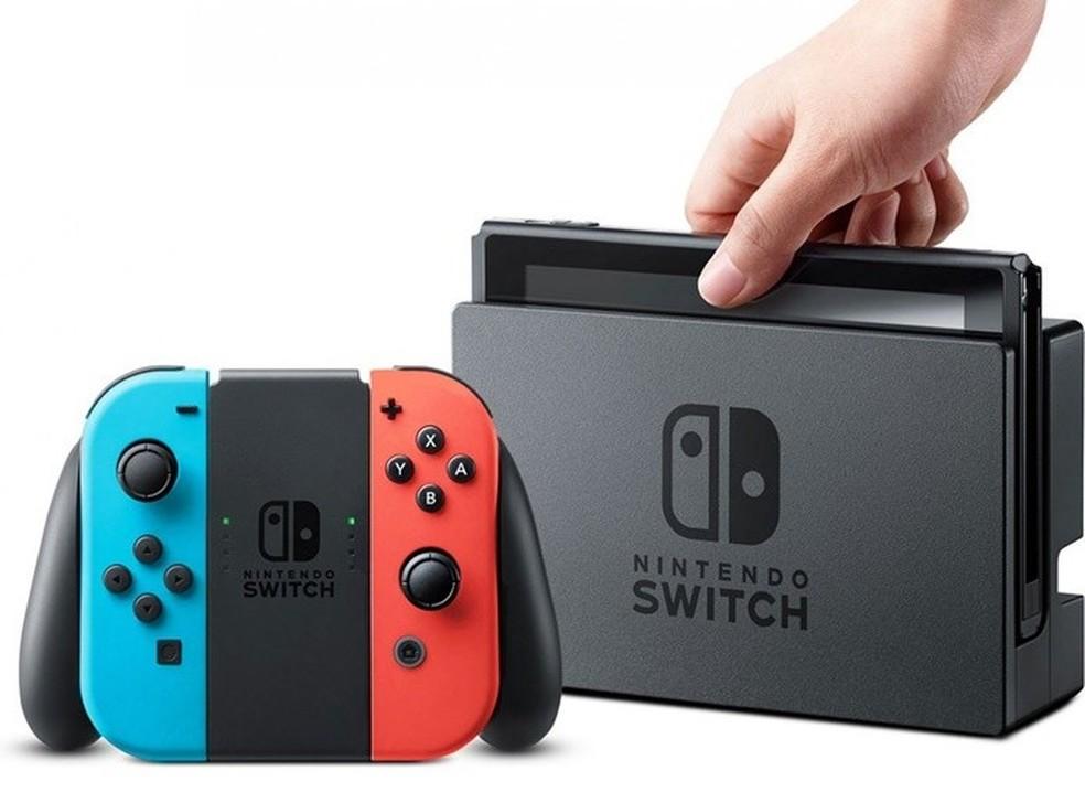 Novos modelos do Switch podem chegar ainda em 2019 — Foto: Divulgação/Nintendo