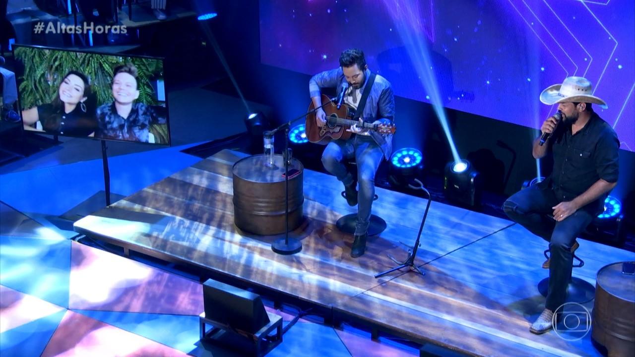 Fernando e Sorocaba cantam 'Bom Rapaz'