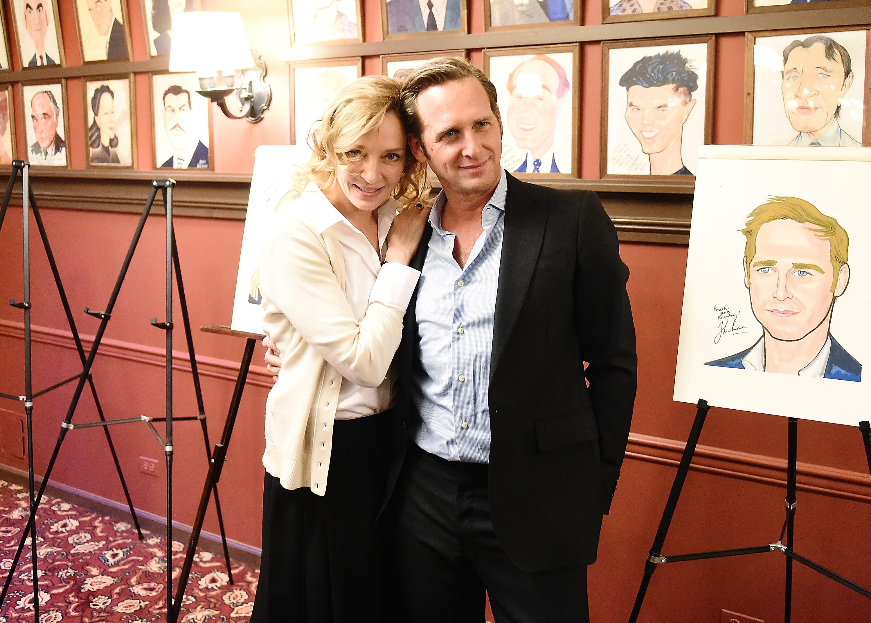 A atriz Uma Thurman e o ator Josh Lucas (Foto: Getty Images)