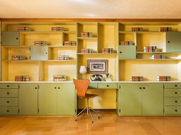 Home Office | Portland, Oregon | c. 1958 (Foto: Reprodução Instagram @accidentallywesanderson)