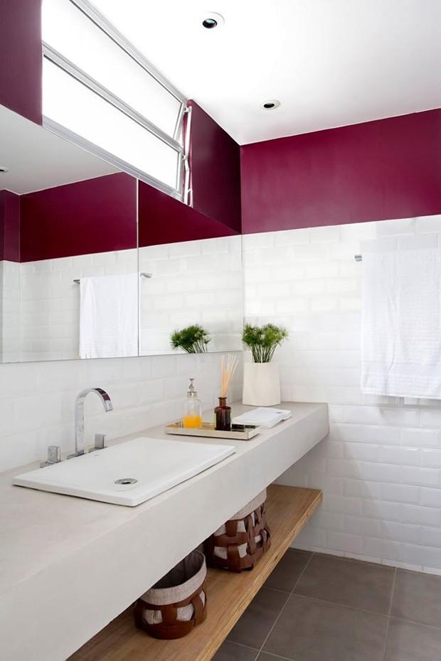 decoração-de-banheiro-lavabo (Foto: Juliano Colodeti - MCA Estudio/Divulgação)
