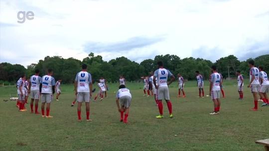 De volta ao comando do Piauí, Lucas Andrade trabalha bola parada e jogadas ensaiadas