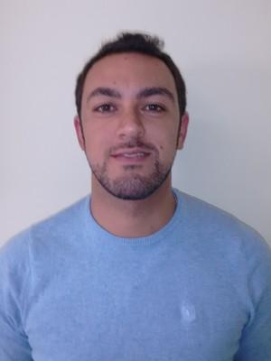 Empresa em que Felipe Bossi trabalha proibiu o uso do Whatsapp (Foto: Arquivo pessoal)