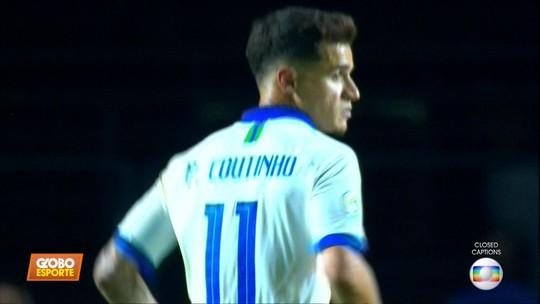 Philippe Coutinho brilha na vitória da Seleção contra a Bolívia na Copa América