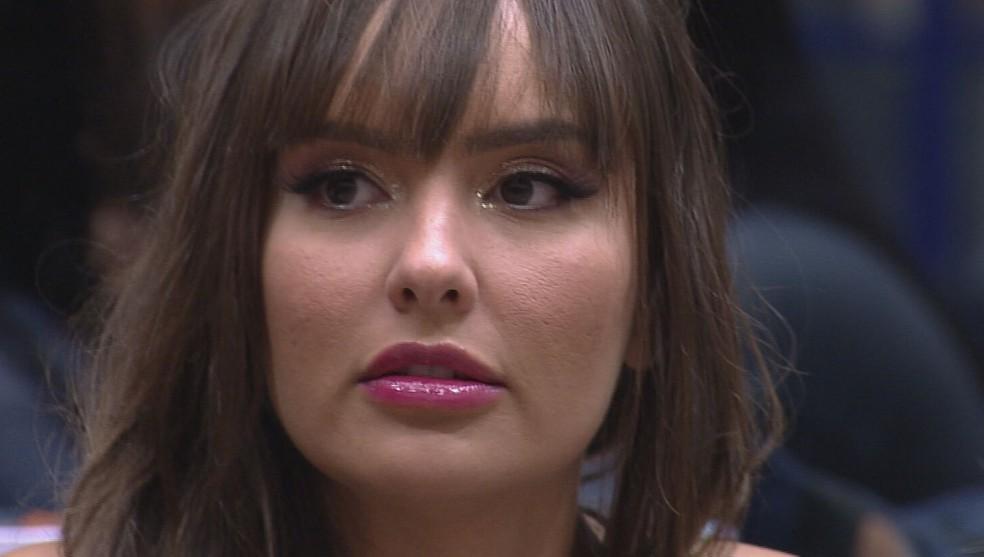 Thaís deixou o 'BBB21' — Foto: Reprodução / Globo