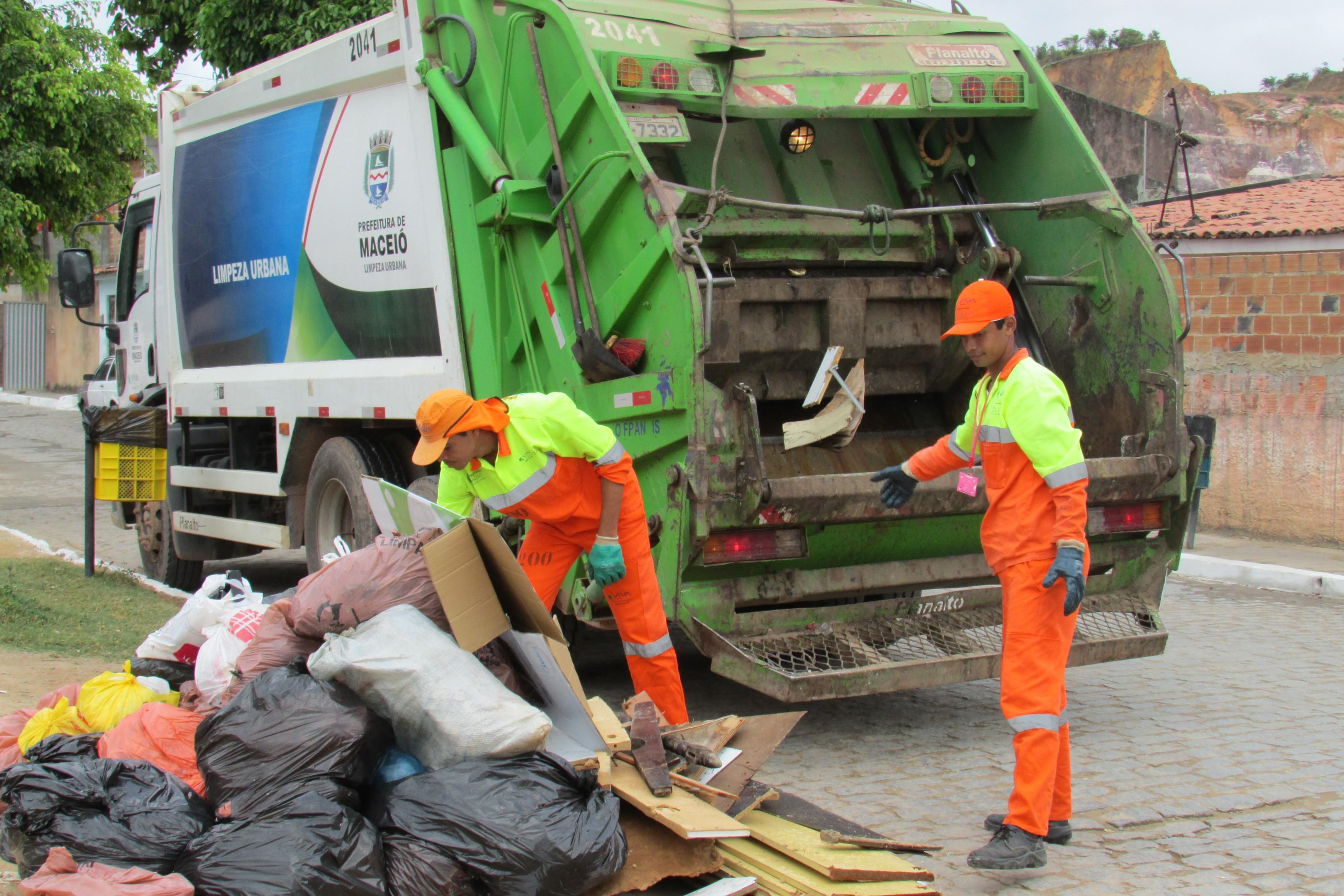 Prefeitura de Maceió reduz limpeza urbana em 30% a partir desta quinta