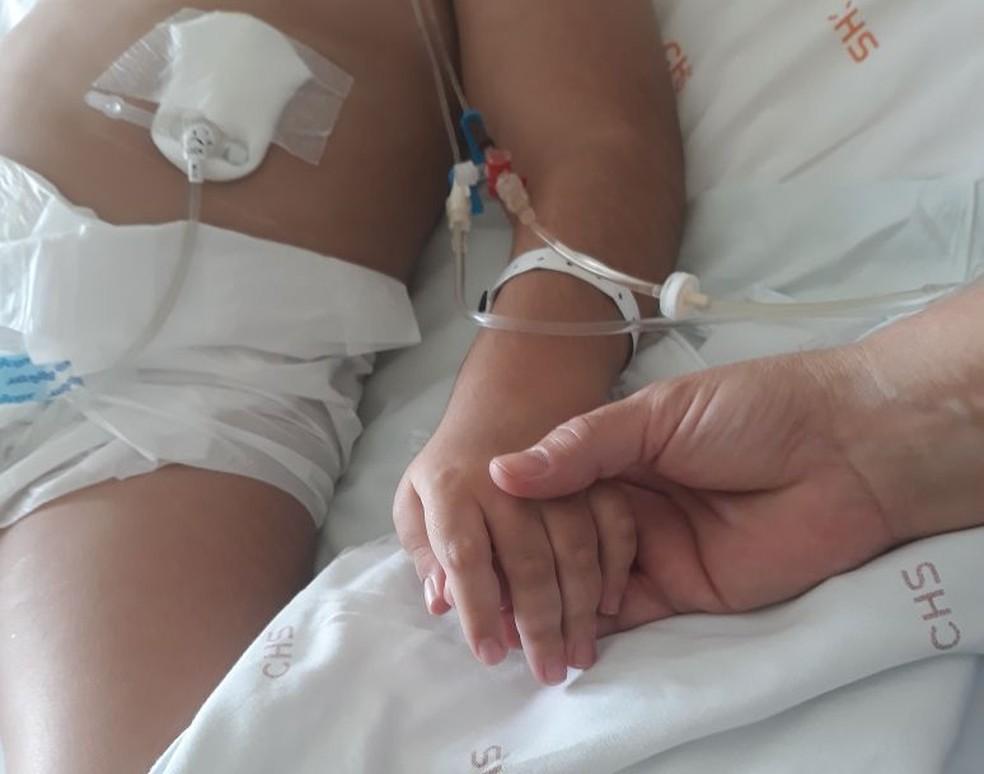 Criança de seis anos foi assediada por homem dentro do Conjunto Hospitalar de Sorocaba (Foto: Arquivo pessoal)