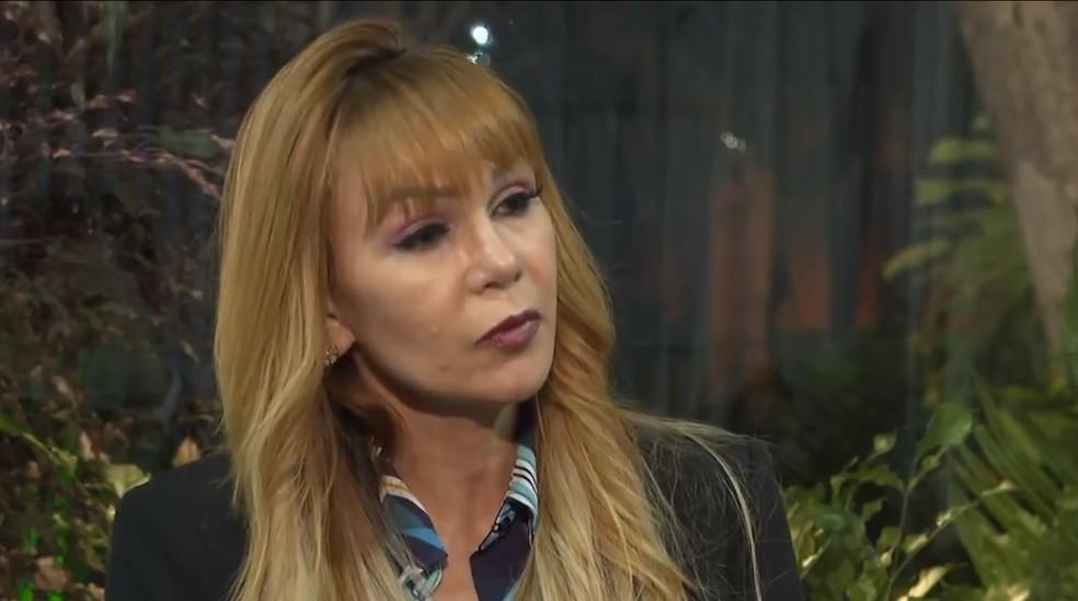 A advogada Vanusa Lopes, ex-mulher do deputado distrital Hermeto — Foto: Reprodução/TV Globo