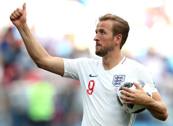 O craque da seleção inglesa Harry Kane (Foto: Getty Images)