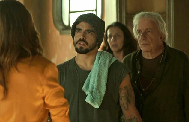 Na quinta (11). Rock (Caio Castro) irá afirmar a Maria da Paz que Jô lhe roubou (Foto: Reprodução)
