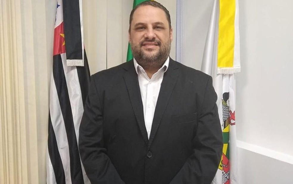 Ramon Ramos era presidente da Câmara dos Vereadores de São Bernardo do Campo — Foto: Reprodução/Facebook