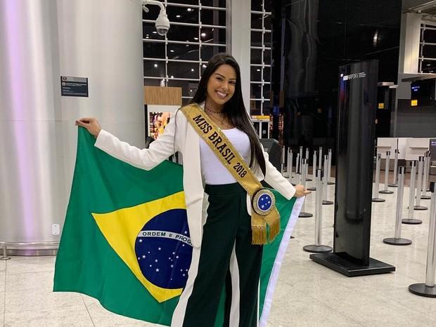 Mayra Dias, a Miss Brasil 2018 (Foto: Reprodução/Instagram)