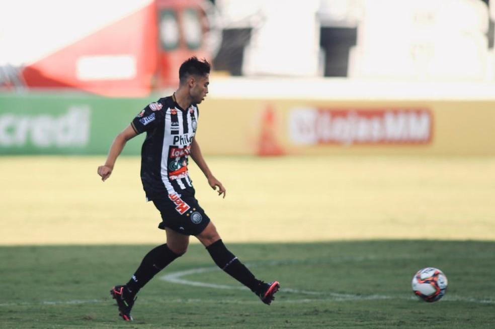 Leandro Vilela retorna ao Operário-PR e pode estar disponível para o jogo contra o Vasco — Foto: André Jonsson/OFEC