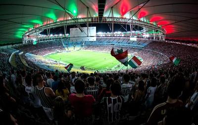 Torcida Fluminense Maracanã (Foto: Bruno Haddad / Fluminense F.C)