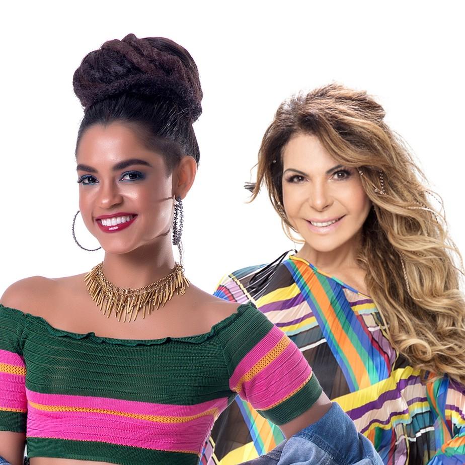 Lucy Alves lança single para o São João em parceria com Elba Ramalho