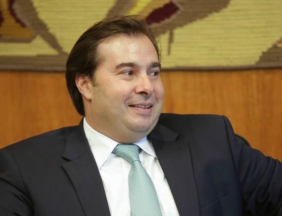 O presidente da Câmara, Rodrigo Maia (Foto: Fabio Rodrigues Pozzebom/Agência Brasil)