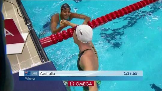 Brasil leva a prata nos 4x50m medley misto da Copa do Mundo de Natação de Cingapura