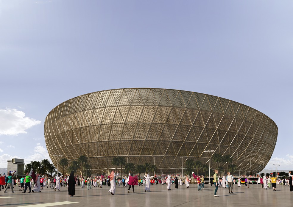Catar vai receber a próxima Copa do Mundo em 2022 — Foto: Divulgação
