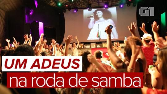 Beth Carvalho é homenageada em 'samba de sétimo dia' no Rio