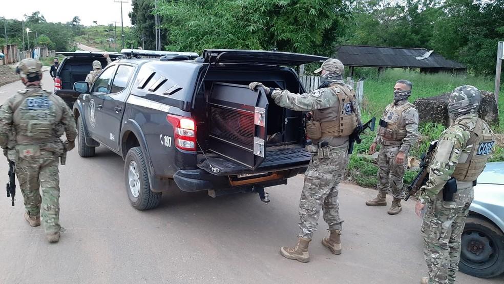 Polícia cumpre mais de 30 mandados de prisão em RO e MT — Foto: William Andrade/Rede Amazônica