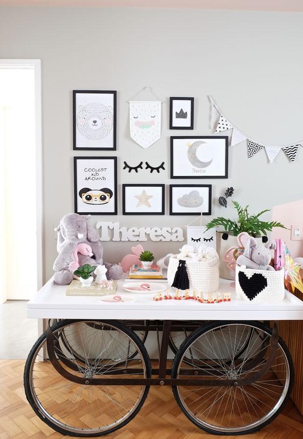 O quarto da filha de Mariana Weickert é puro charme (Foto: Divulgação)