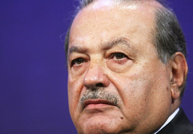 NEW YORK - SEPTEMBER 24: Carlos Slim Helu, Chairman of the Board, Grupo Carso S.A. de C.V. appears at the Clinton Global Initiative (CGI) on September 24, 2009 in New York City. The Fifth Annual Meeting of the Clinton Global Initiative (CGI) looks to gath (Foto: Mario Tama/Getty Images)