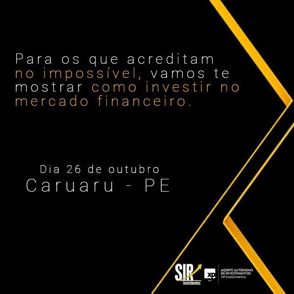 Curso sobre mercado financeiro é realizado em Caruaru - Notícias - Plantão Diário