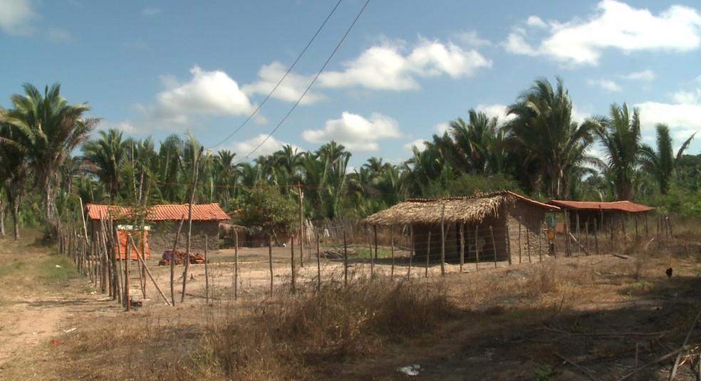 Acidente ocorreu em casa na zona rural de Teresina. (Foto: Reprodução/ TV Clube)