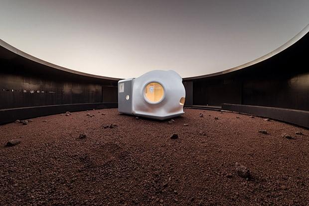 Escritório de arquitetura desenvolve cápsula para viver em Marte (Foto: WU Qingshan/Divulgação)