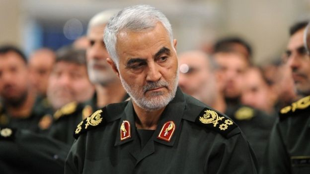Qasem Soleimani comandava as Forças Quds, unidade de elite da Guarda Revolucionária do Irã (Foto: Getty Images via BBC News)
