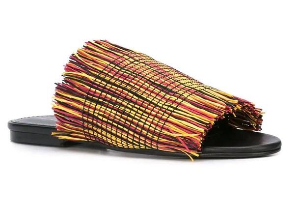 Com franjas coloridas, Proenza Schouler para Farfetch R$4.894 (Foto: Divulgação)