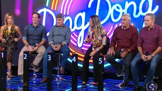 'Ding Dong': Equipe de esporte da TV Globo se enfrenta no quadro