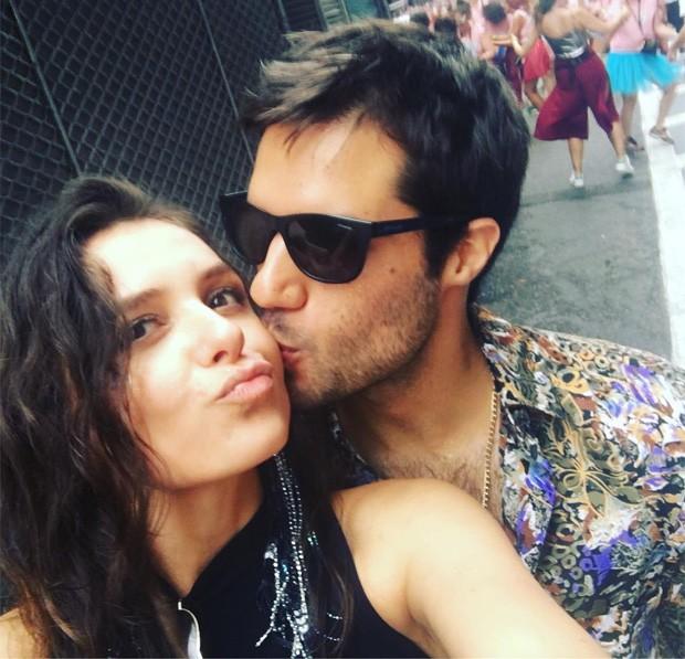 Monica Iozzi e Gabriel Moura (Foto: Reprodução/Instagram)