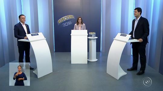 Candidatos à prefeitura de Jundiaí debatem propostas na TV TEM