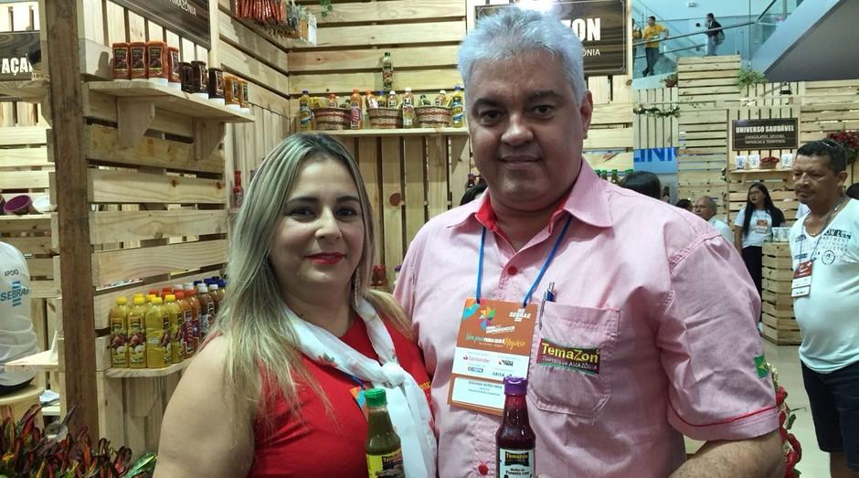 Casal faz sucesso com pimentas exóticas, inspiradas em ingredientes do Pará (Foto: Editora Globo)