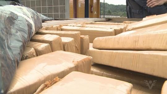 Polícia Rodoviária apreende 900 kg de maconha durante operação em SP