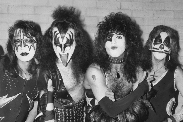 Os músicos do Kiss (Foto: Getty Images)