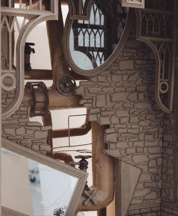 Câmara Secreta, de Harry Potter (Foto: Melbourne School of Design/ Reprodução)
