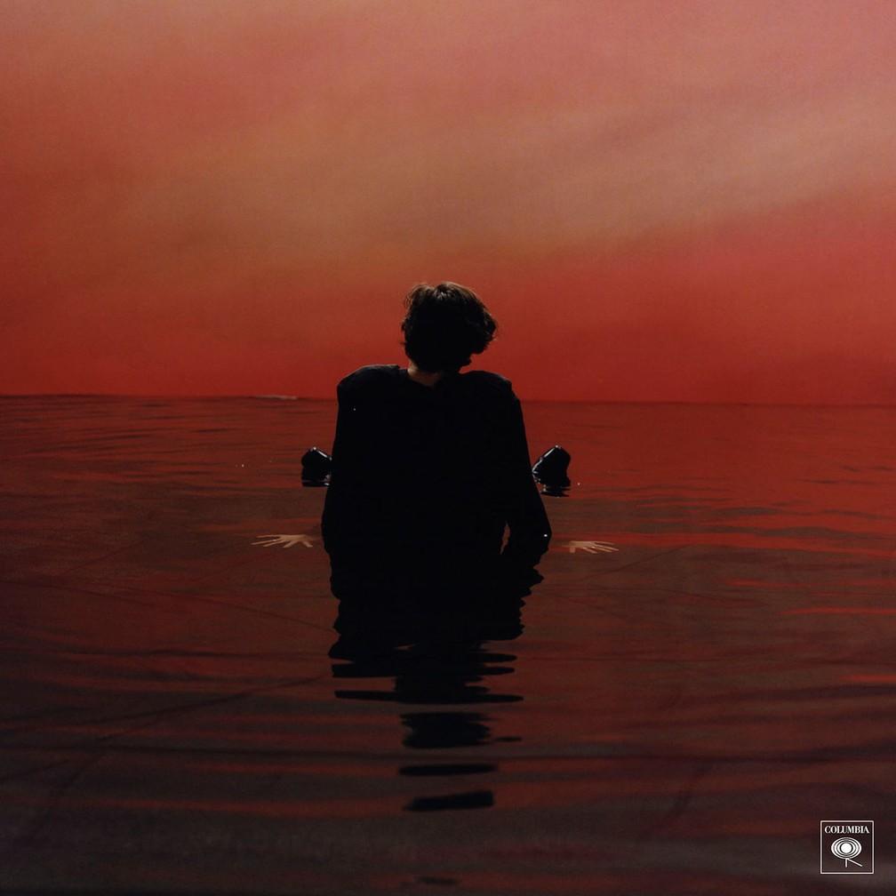 Harry Styles na capa de 'Sign of times' (Foto: Divulgação)