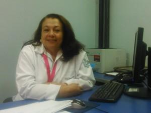Rita Guimarães desenvolve esse trabalho desde 2008 (Foto: Patrícia Belo / G1)