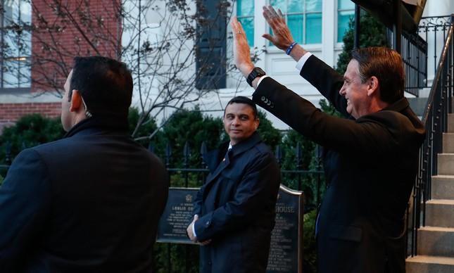 Jair Bolsonaro em Washington