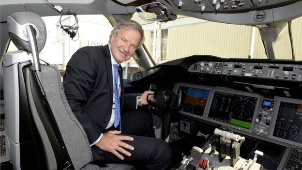Bjørn Kjos transformou a Norwegian na terceira maior companhia aérea de baixo custo da Europa (Foto: Norwegian/via BBC News Brasil)