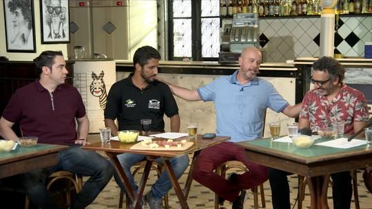Boteco do Escobar recebe Chicão, Jorginho e Simoninha
