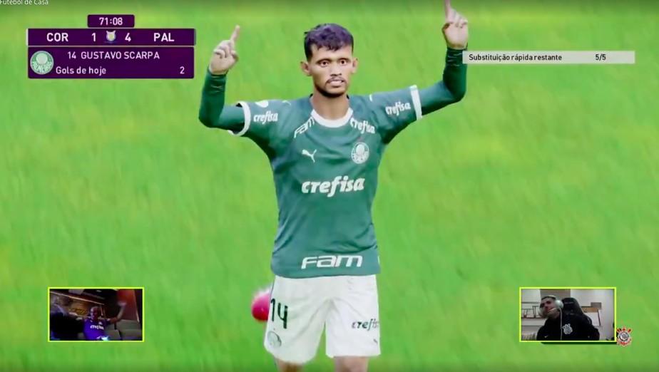Deu Verdão no Dérbi! Jailson goleia Gabriel e Palmeiras avança para as semifinais em torneio online