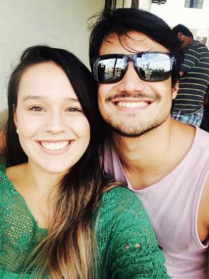 Letícia sobreviveu a acidente em que perdeu o irmão, Bruno (Foto: Arquivo pessoal / Letícia Gobbi)