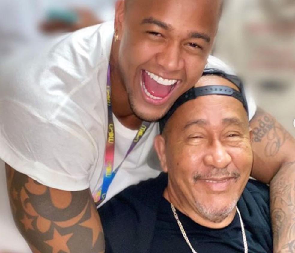 Pai de Léo Santana, Lourival Cupertino de Santana, morreu na quinta-feira (5), em Salvador — Foto: Redes Sociais