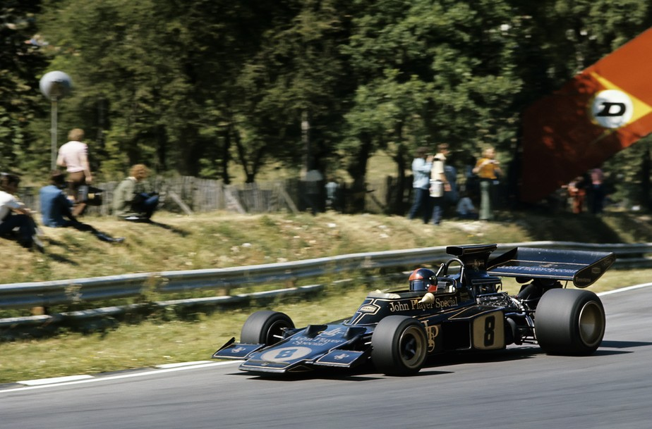 Emerson Fittipaldi arrancou para o título de 1972 com vitória marcante em Brands Hatch
